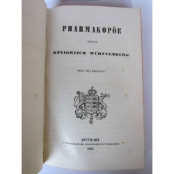 Pharmakopöe für das Königreich Württemberg