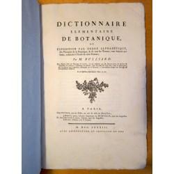 Dictionnaire Elementaire de Botanique