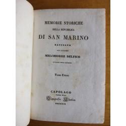 Memorie storiche della Repubblica di San Marino