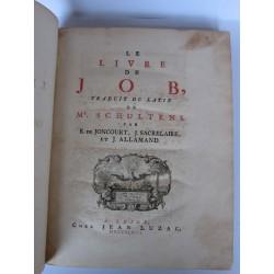 Le livre de JOB – Schultens – Leide – Jean Luzac