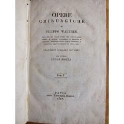 Opere Chirurgiche di Filippo Walther