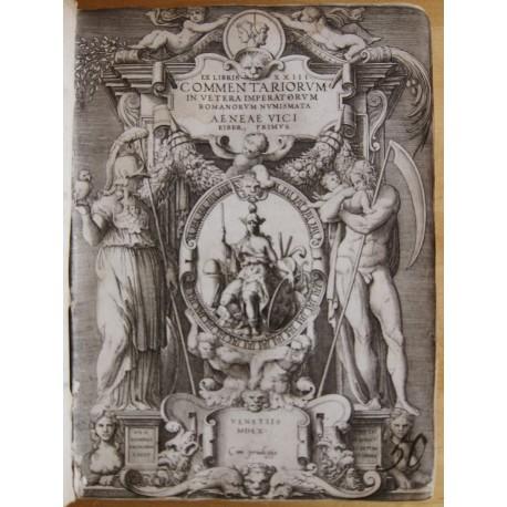 Omnium caesarum imagines ex antiquis numismatis + Augustarum imagines + Commnetarior