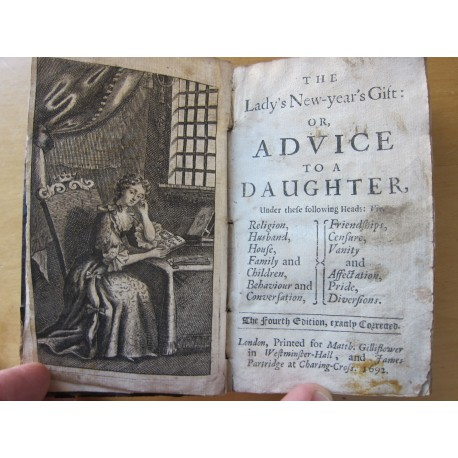 The lady's new-year's gift, or, Advice to a daughter