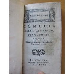 1569 Piccolomini Alessandro Commedia