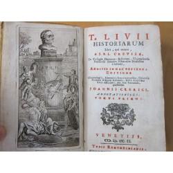 Crevier-T.Livii Historiarum Libri 1751