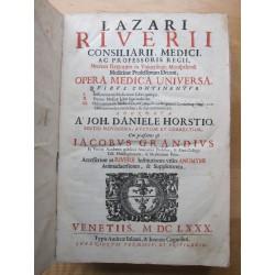 Lazarius Riverius Opera Medica Universa 1680