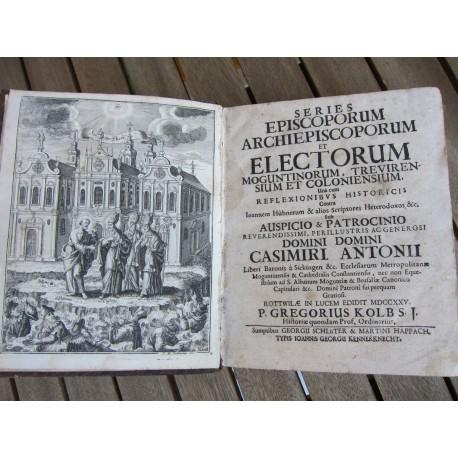 1725-Kolb-Series episcoporum Moguntinorum
