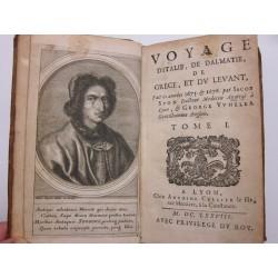 1678 Voyage d'Italie Spon + 1679 réponse a la critique