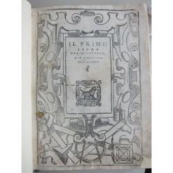 Il primo [-quinto] libro d'architettura di m. Sabastiano Serlio bolognese 1551