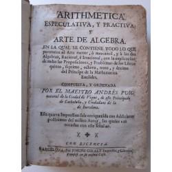 Arithmetica Especulativa, y practiva, y Arte de Algebra 1715