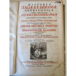 1701-Imhof-Historia Italiae et hispaniae Genealogica