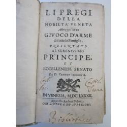 1682-Freschot-Li pregi della Nobiltà Veneta