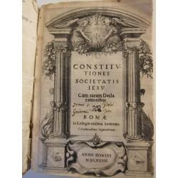 1583-Constitutiones Societatis Iesu