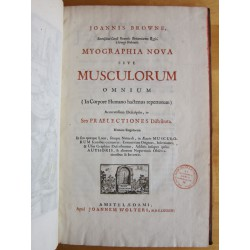 Myographia nova sive Muscolorum omnium…