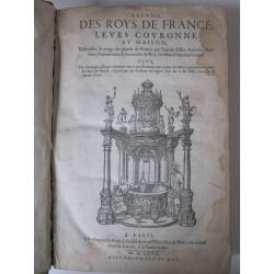 Recueil des roys de France, leurs couronne et maison