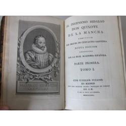 El Ingenioso Hidalgo Don Quixote de la Mancha Cumpuesto Por Miguel de Cervantes Saavedra