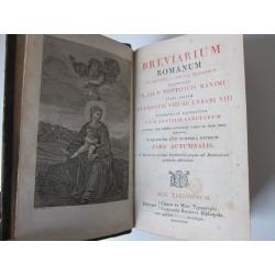 1827-Breviarium romanum, pars Verna, Aestiva, Autumnalis