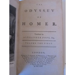 1763_Pope_the Hodissey of Homer