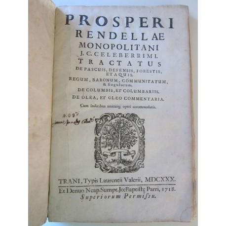 1730-Rendella-Tractatus de pascuis